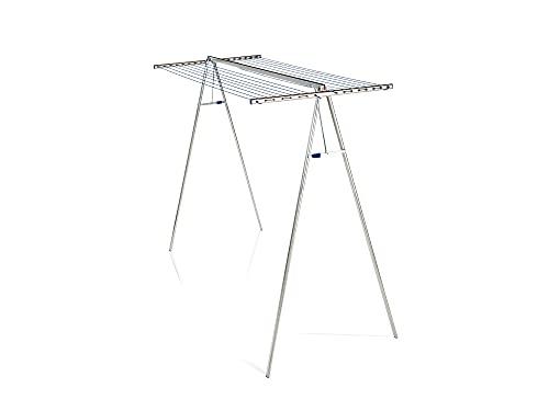 Leifheit 72705 Linomaxx - Stendibiancheria verticali, Alluminio, Lunghezza asciugatura 32 m