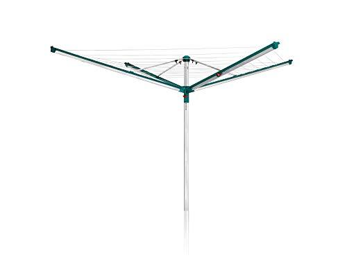 Leifheit Linomatic 500 Deluxe Stendibiancheria, Verde, 50 m