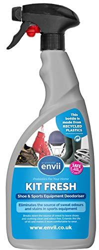 Envii Kit Fresh – Spray Elimina Odori per Scarpe e Attrezzatura Sportiva – 750 ml…