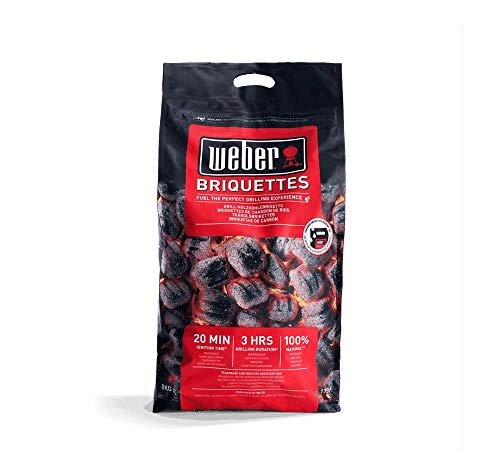 Weber Bricchetti Carbone fsc carbonella in Formato Sacchetto 8 kg