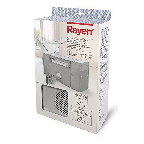 Rayen   Coperchio stendibiancheria con riscaldamento   Copertura per stendibiancheria   Stendibiancheria ad asciugatura rapida (1 ora)   Estensibile   105-180 x 56 x 106 cm   2 unità